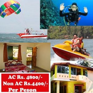 STAY + DEEP DIVING COMBO PACKAGE - In Tarkarli